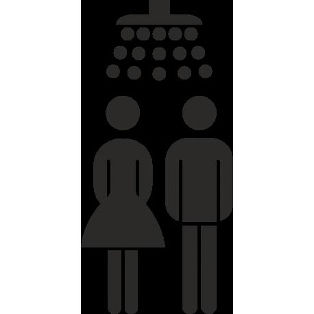 Gezamenlijke douche stickers (zonder achtergrond)