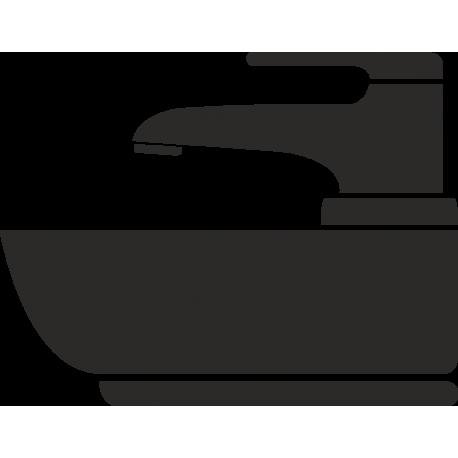 Wastafel stickers (zonder achtergrond)