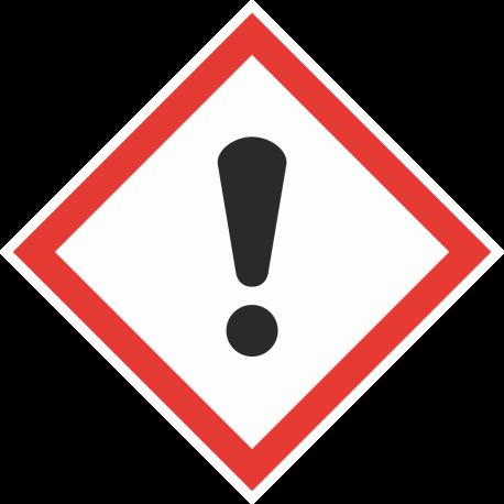 GHS-07 Schadelijke stof stickers
