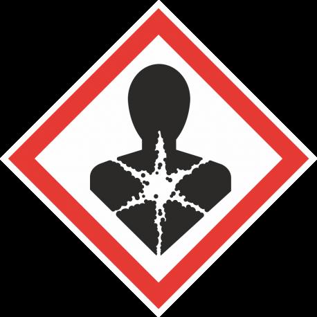 GHS-08 Gezondheidsgevaar stickers