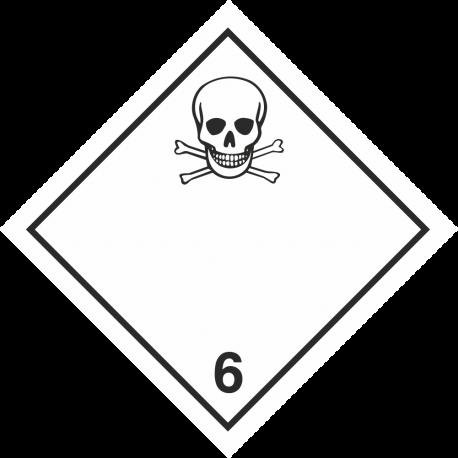"""ADR 6 """"Giftig"""" borden"""