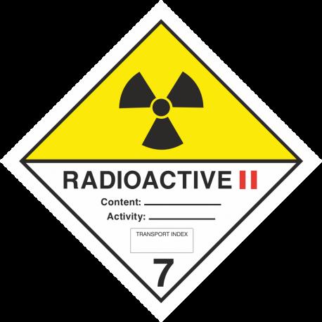 ADR 7 'Radioactive II' borden