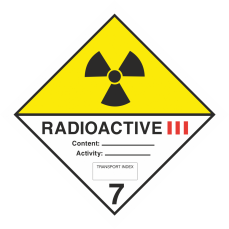 """ADR 7 """"Radioactive III"""" borden"""