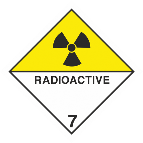 "ADR 7 ""Radioactive"" borden"