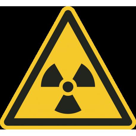 Radioactieve stoffen vloerstickers
