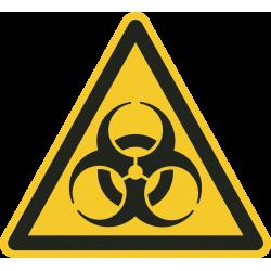 Biologisch besmettingsgevaar vloerstickers