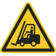 Transportvoertuigen vloerstickers