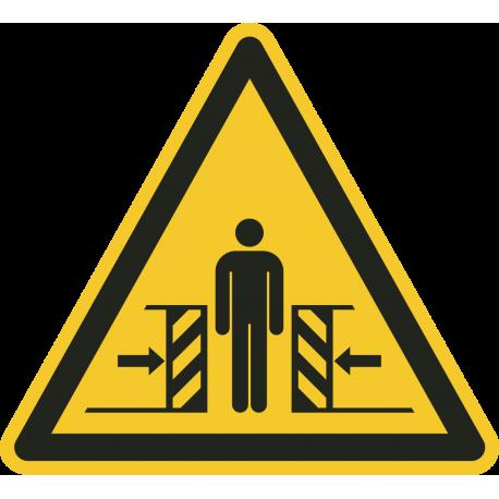Knellingsgevaar vloerstickers