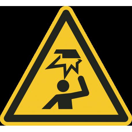 Stootgevaar vloerstickers