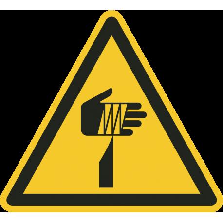 Gevaar voor scherpe elementen vloerstickers