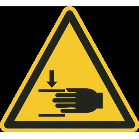 Verwonding aan hand vloerstickers
