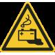 Gevaren door laden accu vloerstickers