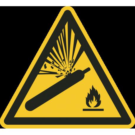 Gashouders onder druk vloerstickers