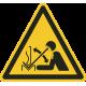 Snel bewegend werkstuk vloerstickers