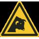 Pas op voor stier vloerstickers