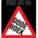 Dode hoek stickers