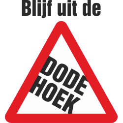 Dode hoek stickers