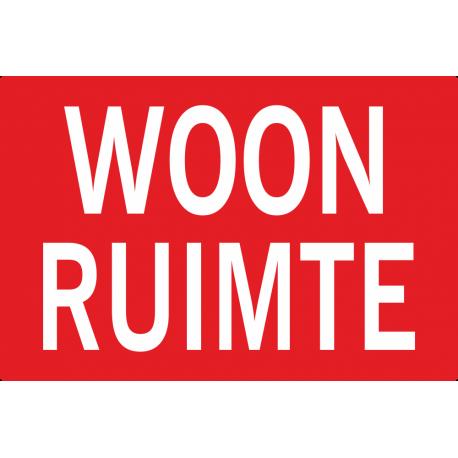 Woonruimte stickers (dubbele hoogte)