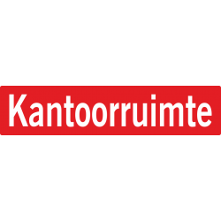 Kantoorruimte stickers