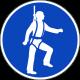 Valbescherming verplicht stickers