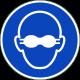 Opaque bril verplicht stickers
