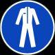 Beschermkleding verplicht stickers