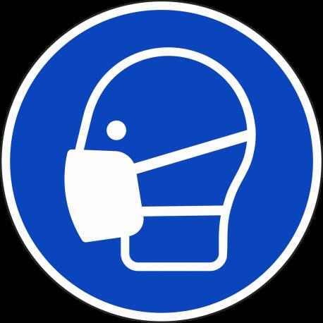 Mondkapje verplicht stickers