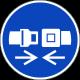 Veiligheidsriem verplicht stickers