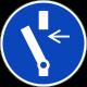 Vrijschakelen voor onderhoud verplicht stickers