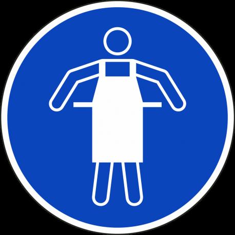 Beschermschort verplicht stickers