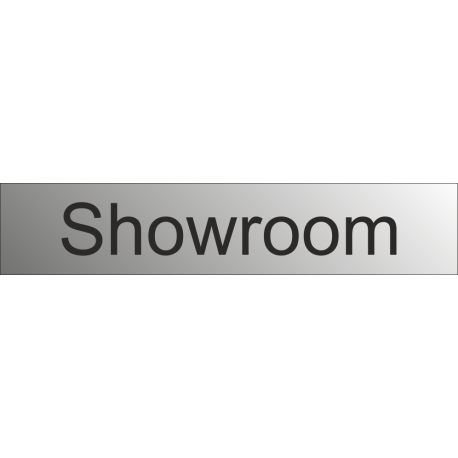 Showroom bewegwijzeringsborden