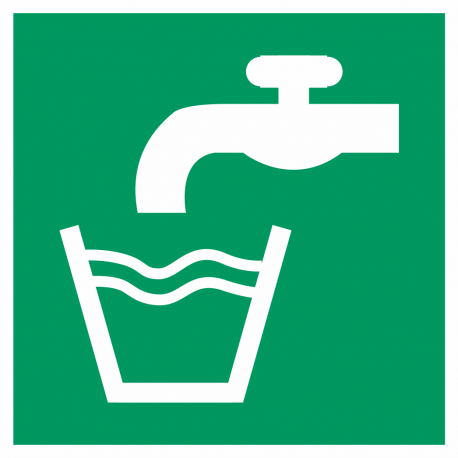 Drinkwater bordjes