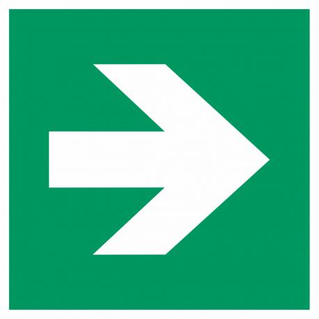 Richtingaanwijzing rechts bordjes