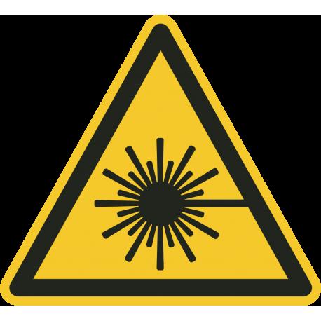 Laserstraal bordjes