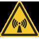Niet-ioniserende straling bordjes