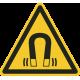 Sterk magnetisch veld bordjes