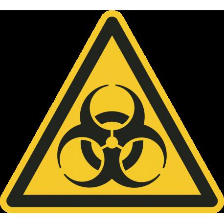 Biologisch besmettingsgevaar bordjes