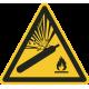 Gashouders onder druk bordjes