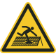 Instortingsgevaar dak bordjes