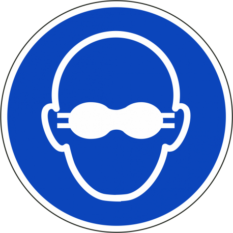 Opaque bril verplicht bordjes
