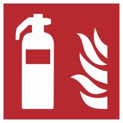 Blusapparaat (brandblusser) bordjes