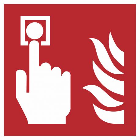 Brandmelder bordjes