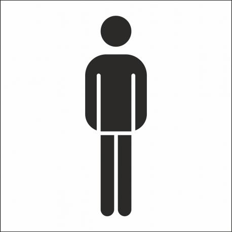 Heren toilet stickers (met achtergrond)