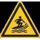 Watersurf gebied stickers