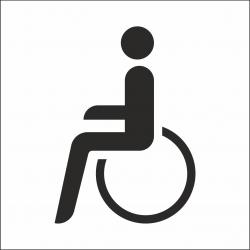Invalide stickers (met achtergrond)