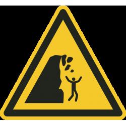 Onstabiele klif stickers