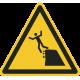 Onstabiele klif(rand) stickers