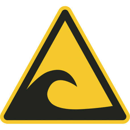 Tsunami gebied stickers
