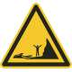 Vloedgevaar stickers