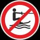 Verboden te slepen stickers